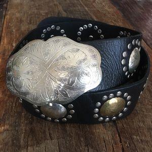 Free People Leather waist belt